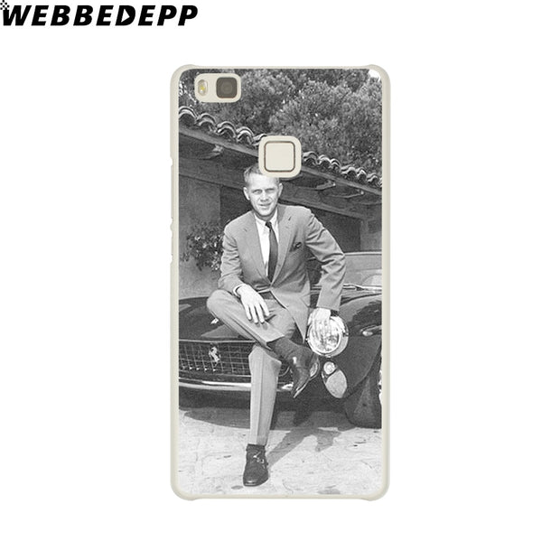 WEBBEDEPP Steve Mcqueen Phone Case For Huawei P20 Pro Smart P10 P9 Lite 2016/2017 P8 Lite 2015/2017 Cover