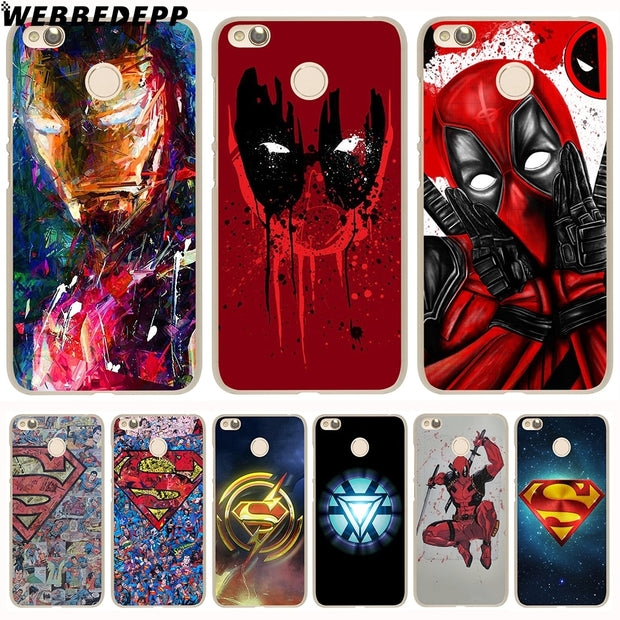 WEBBEDEPP Super Funny Cool Hero SuperMan Phone Case For Xiaomi Redmi 4X 4A 5A 5 Plus 6 Pro 6A S2 Note 5 6 Pro 4X Cover