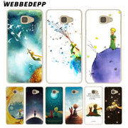 WEBBEDEPP The Little Prince And The Fox Hard Case For Galaxy A3 A5 2015 2016 2017 A6 A8 Plus 2018 Note 8 9 Grand Cover