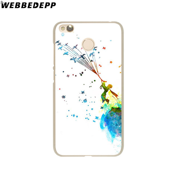 WEBBEDEPP The Little Prince And The Fox Phone Case For Xiaomi Redmi 4X 4A 5A 5 Plus 6 Pro 6A S2 Note 5 6 Pro 4X Cover