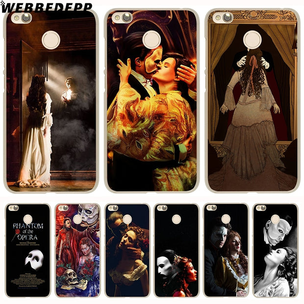 WEBBEDEPP The Phantom Of The Opera Phone Case For Xiaomi Redmi 4X 4A 5A 5 Plus 6 Pro 6A S2 Note 5 6 Pro 4X Cover