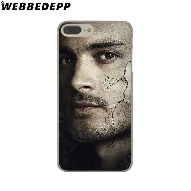 WEBBEDEPP The Vampire Diaries 8 Hard Phone Case For IPhone X XS Max XR 7 8 6S Plus 5 5S SE 5C 4 4S Cover