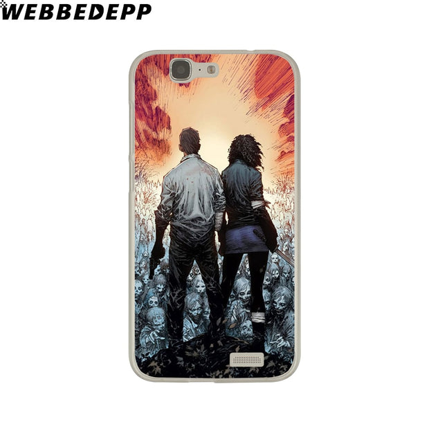 WEBBEDEPP The Walking Dead Phone Case For Huawei P20 Pro Smart P10 P9 Lite 2016/2017 P8 Lite 2015/2017 Cover