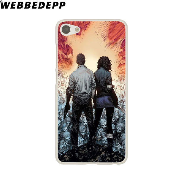 WEBBEDEPP The Walking Dead Phone Case For Meizu M6 M5 M3 Note M6S M5S M5C M3S Mini Cover