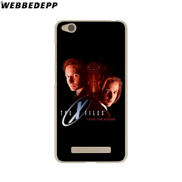 WEBBEDEPP The X Files Phone Case For Xiaomi Redmi 4X 4A 5A 5 Plus 6 Pro 6A S2 Note 5 6 Pro 4X Cover