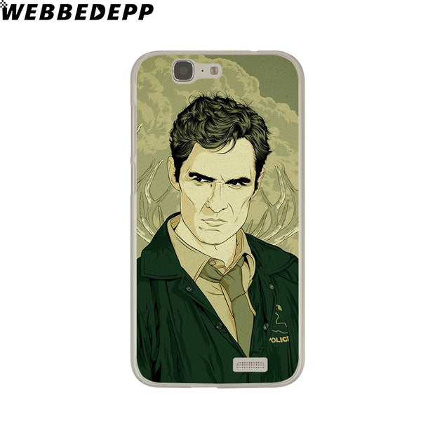 WEBBEDEPP True Detective Phone Case For Huawei P20 Pro Smart P10 P9 Lite 2016/2017 P8 Lite 2015/2017 Cover