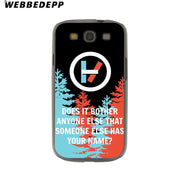 WEBBEDEPP Twenty One Pilots Hard Transparent Phone Case For Galaxy S6 S7 Edge S9 S8 Plus S5 S4 S3 Cover