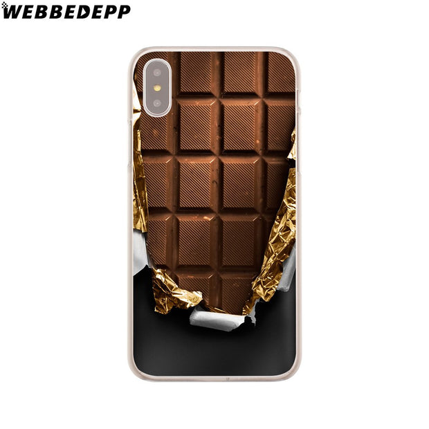 WEBBEDEPP Alenka Bar Wonka Chocolate Hard Phone Case For IPhone X XS Max XR 7 8 6S Plus 5 5S SE 5C 4 4S Cover