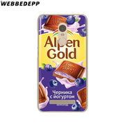 WEBBEDEPP Alenka Bar Wonka Chocolate Phone Case For Xiaomi Redmi 4X 4A 5A 5 Plus 6 Pro 6A S2 Note 5 6 Pro 4X Cover