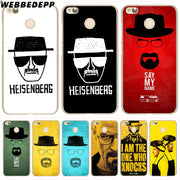 WEBBEDEPP Breaking Bad Phone Case For Xiaomi Redmi 4X 4A 5A 5 Plus 6 Pro 6A S2 Note 5 6 Pro 4X Cover