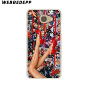 WEBBEDEPP Dope Hard Case For Galaxy A3 A5 2015 2016 2017 A6 A8 Plus 2018 Note 8 9 Grand Cover
