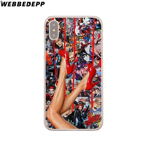 WEBBEDEPP Dope Hard Phone Case For IPhone X XS Max XR 7 8 6S Plus 5 5S SE 5C 4 4S Cover