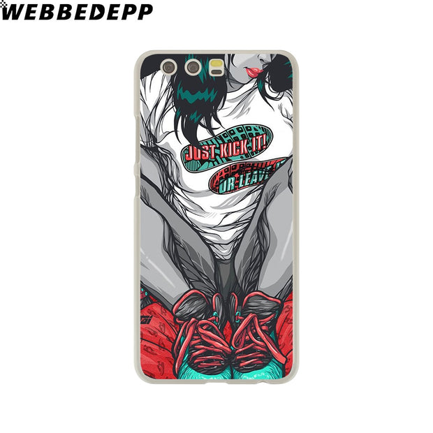 WEBBEDEPP Dope Phone Case For Huawei P20 Pro Smart P10 P9 Lite 2016/2017 P8 Lite 2015/2017 Cover