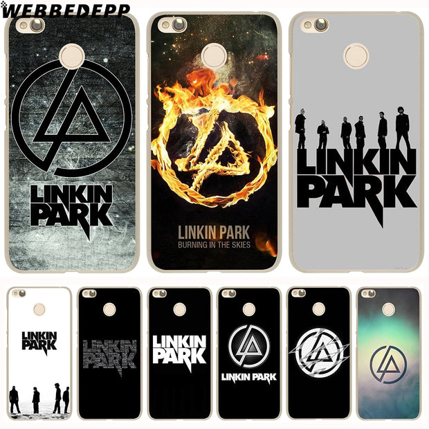 WEBBEDEPP Linkin Park Phone Case For Xiaomi Redmi 4X 4A 5A 5 Plus 6 Pro 6A S2 Note 5 6 Pro 4X Cover