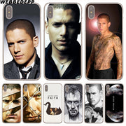 WEBBEDEPP Michael Scofield Prison Hard Phone Case For IPhone X XS Max XR 7 8 6S Plus 5 5S SE 5C 4 4S Cover