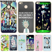 WEBBEDEPP Rick And Morty Phone Case For Xiaomi Redmi 4X 4A 5A 5 Plus 6 Pro 6A S2 Note 5 6 Pro 4X Cover