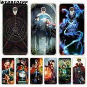 WEBBEDEPP Strange Doctor Steven Phone Case For Meizu M6 M5 M3 Note M6S M5S M5C M3S Mini Cover