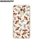 WEBBEDEPP Toy Story Phone Case For Xiaomi Redmi 4X 4A 5A 5 Plus 6 Pro 6A S2 Note 5 6 Pro 4X Cover