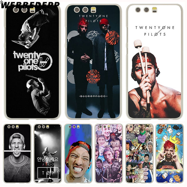 WEBBEDEPP Twenty One Pilots Josh Dun Phone Case For Huawei P20 Pro Smart P10 P9 Lite 2016/2017 P8 Lite 2015/2017 Cover