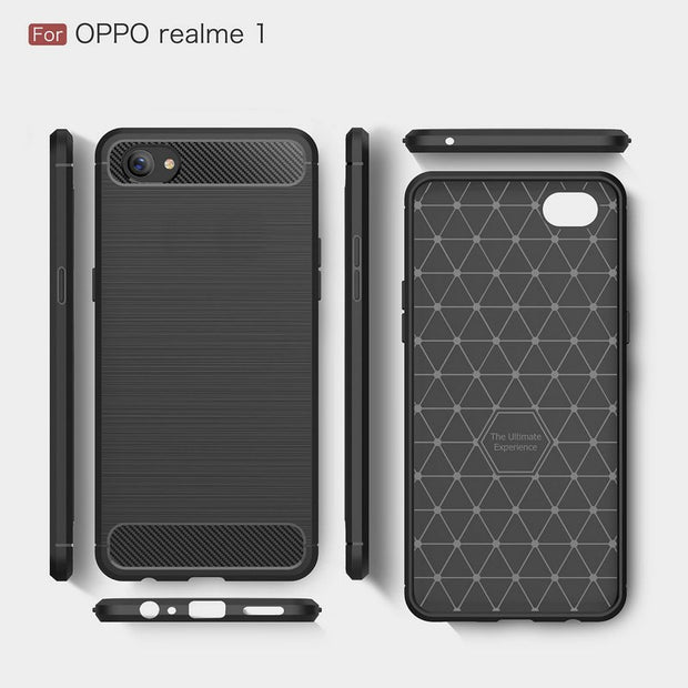 online store dc752 d64dd WIERSS Armor Case Cover For Oppo F7 Youth For Oppo Realme 1 One ...