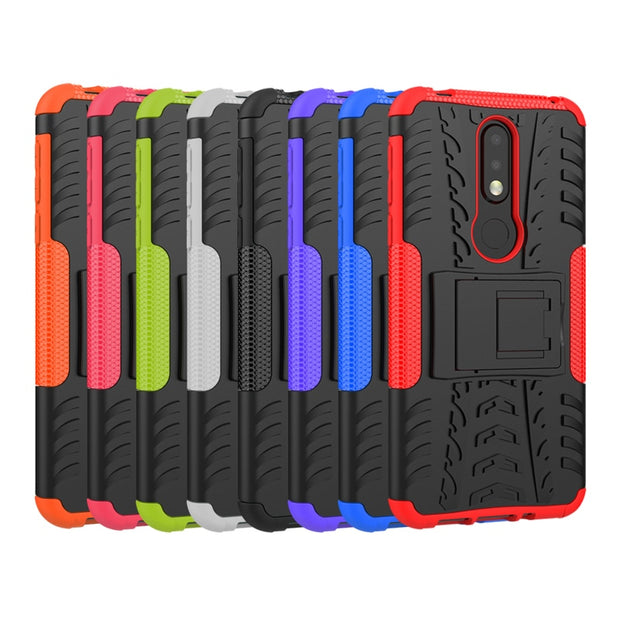 Walcox Case For Nokia 6.1 7.1 5.1 3.1 8 6 5 3 2 1 E1 Plus 2018 Case For Oneplus 6T 5T 6 5 OP5T Cover Coque Oukitel C8 Kickstand