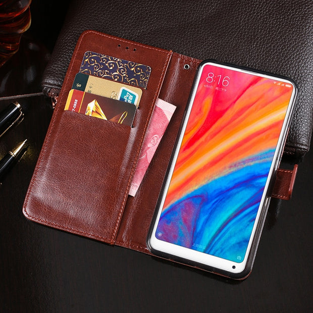 Wallet Case For Xiaomi Mi MIX2s Case Stand Flip Leather Fundas Cover For Xiaomi Mi MIX 2S Case Capa Phone Accessories