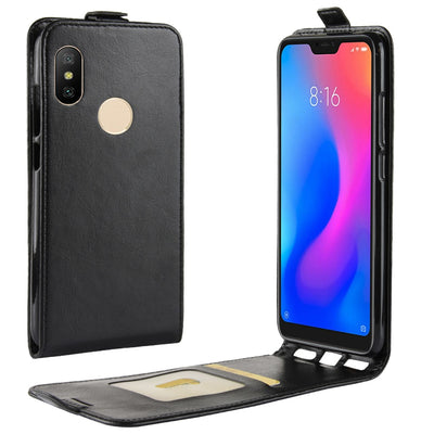 Wallet Case For Xiaomi Redmi Note 6 Pro 6A 5 Plus 5A 4 4X S2 Y2 3 Mi 8 SE A1 A2 Lite 5X 6X Pocophone F1 Mix 2 2S Holster Covers