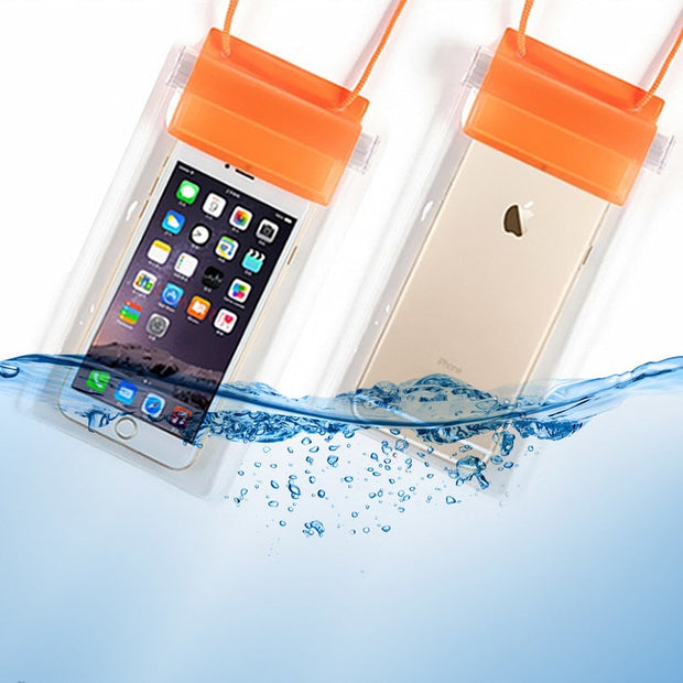 Waterproof Swim Bag Phone Cover Pouch For IPhone Xiaomi Huawei Samsung Less Than 6 Inch Mobile Phone Coque Waterproof Bag Case