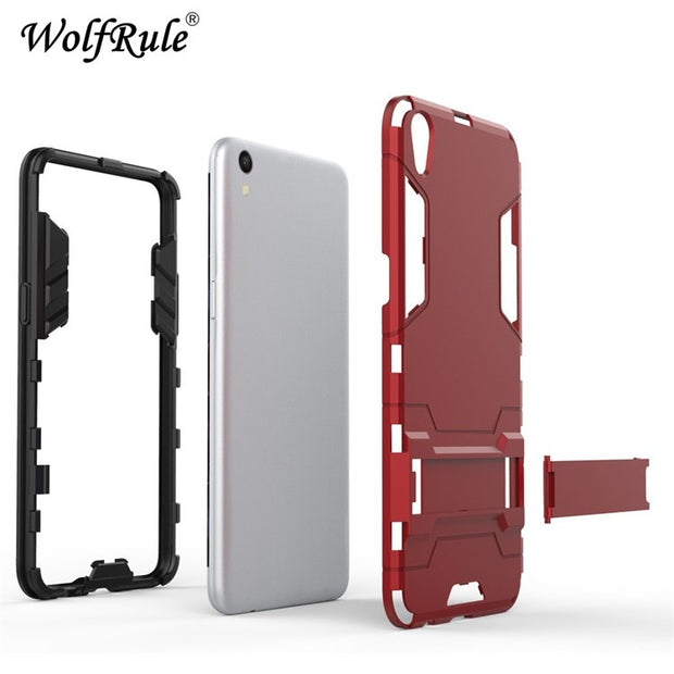 WolfRule For Cover OPPO F1 Plus Case OPPO R9 Case Silicone Rubber Robot Armor Hard Back Phone Cover For OPPO F1 Plus R9 Funda