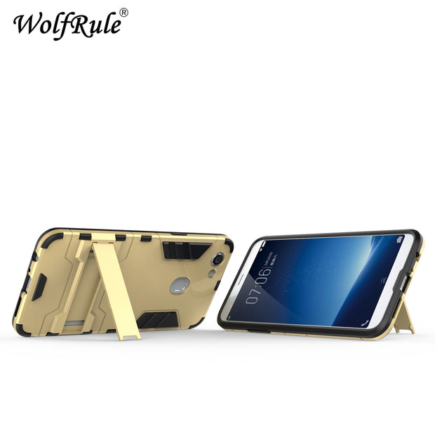 WolfRule For Cover OPPO F5 Case OPPO F5 Youth Silicone Rubber Robot Armor Hard Back Phone Cover Case For OPPO F5 F 5 Back Cover