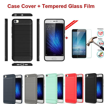 XSKEMP Back Rubber Cover Slim TPU Phone Case 9H Screen Protector For Motorola Moto E3 3rd Gen G 3rd Gen 2015 XT1540 G4 Plus Play