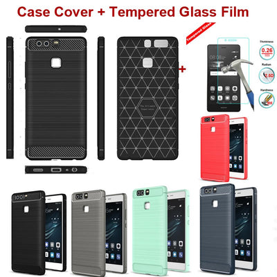 XSKEMP Hybrid Armor Anti-knock Case Shell For Oneplus 3T 3 Ultra Slim Brushed Rubber Soft TPU Cover Phone Screen Protector Film