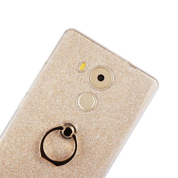 XSKEMP Phone Protective Ring Kickstand Case For Huawei P9 Plus Nova 2 Plus Honor 6A Enjoy 7 Plus Soft TPU Back Cover Shell Coque