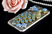 XSMYiss Luxury Rhinestone Peacock Flower Diamond Soft Cover For Huawei P8 P9 P10 P20 Lite Plus Mate7 8 9 10 Lite Pro Phone Cover