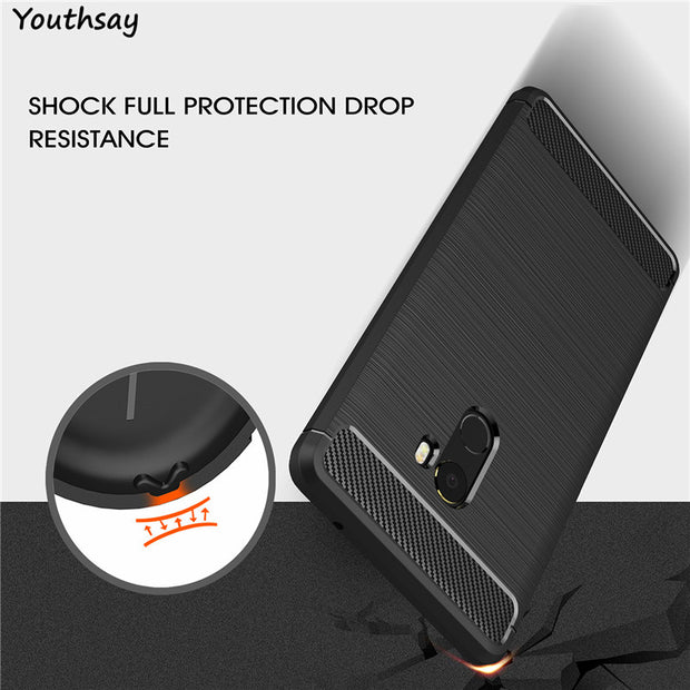 Xiaomi Mi Mix 2 Case Xiaomi MiMix 2 Brushed Armor Shockproof Soft TPU Phone Case For Xiaomi Mi Mix 2 Cover MiMix2 Mi Mix2 Covers