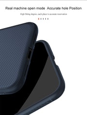 Xiaomi PocoPhone F1 Case Lenuo Thin Shockproof Soft TPU Carbon Fiber Brushed Back Cover Case For Poco F1 PocoPhone F1