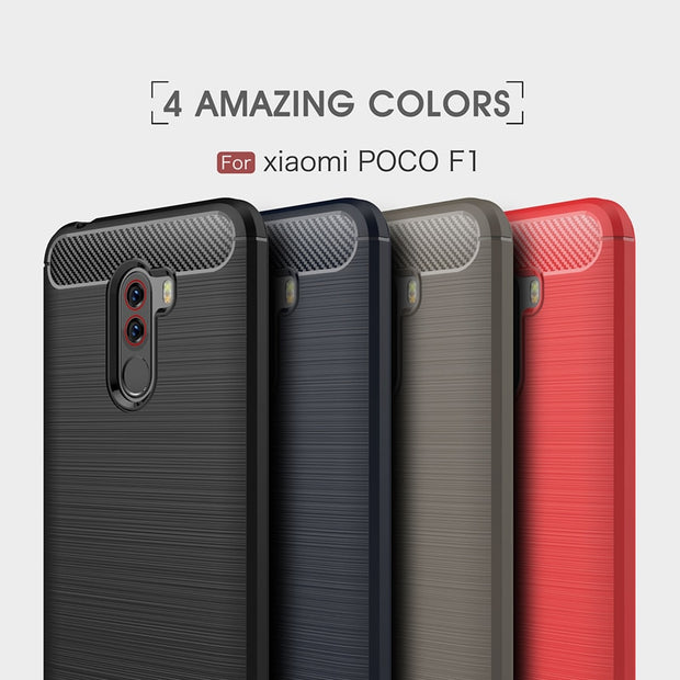Xiaomi Pocophone F1 Phone Case,Excellent Quality Non-slip Full Protection TPU Back Cover Case For Pocophone F1 Case