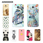 Xiaomi Redmi 2 Case,Silicon Panda Painting Soft TPU Back Cover For Xiaomi Redmi 2 Phone Protect Case Shell