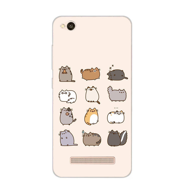 Xiaomi Redmi 5a Case,Silicon Bubble Cat Painting Soft TPU Back Cover For Xiaomi Redmi 5a Phone Fitted Case Shell
