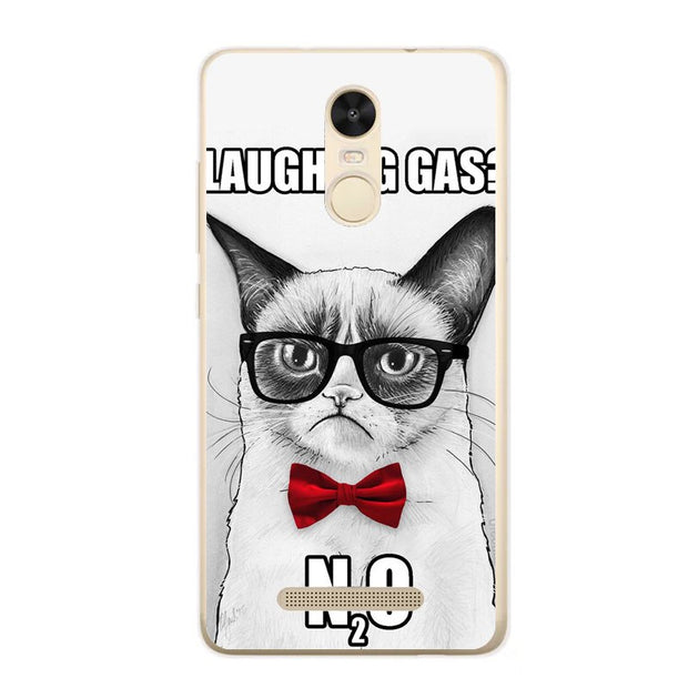 Xiaomi Redmi Note 3 Pro Case,Silicon Look Cat Painting Soft TPU Back Cover For Xiaomi Redmi Note 3 Phone Fitted Case Shell