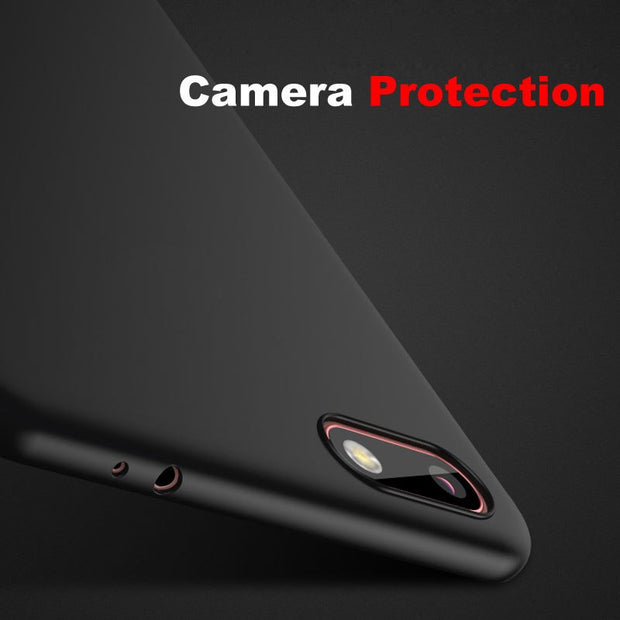 YEFEIFAN Huawei Y5 Prime 2018 Case Matte Silicone Soft Cover