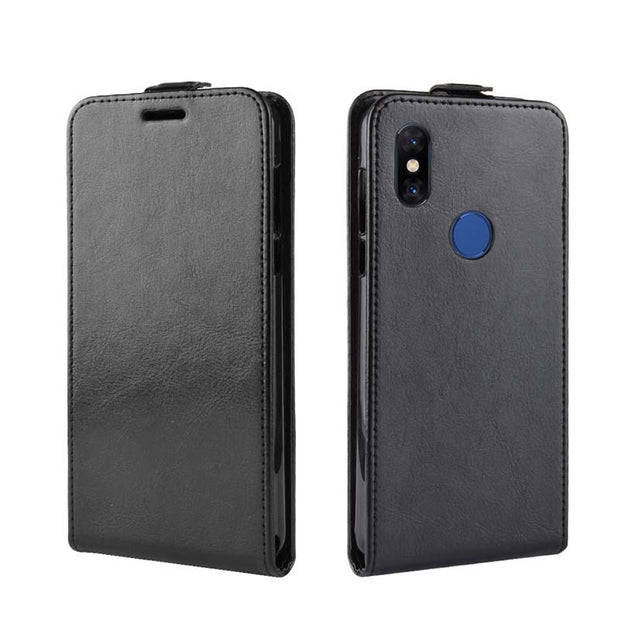 YINGHUI Flip R64 Skin Leather Phone Case For Xiaomi Mix 3