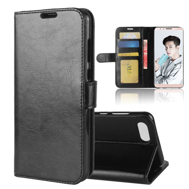 "YINGHUI For Huawei Nova 2S Phone Case High Quality PU Leather Flip Cover For Huawei Nova 2S 6.0"" Silicone Protective Back Cover"