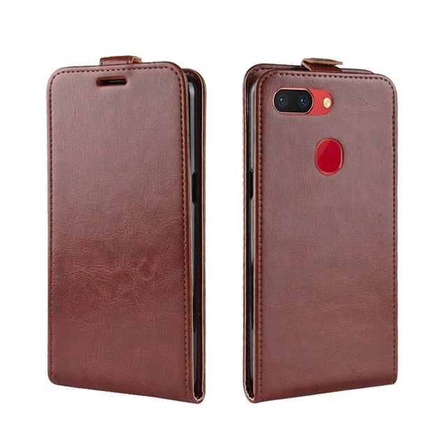 YINGHUI Luxury Elegant R64 Skin Flip Leather Phone Case For Oppo R15 Pro
