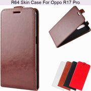 YINGHUI Luxury Elegant R64 Skin Flip Leather Phone Case For Oppo R17 Pro