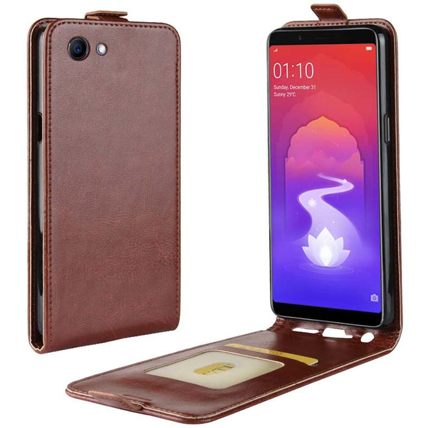 YINGHUI Luxury Elegant R64 Skin Flip Leather Phone Case For Oppo Reallme 1 F7 Youth A73S
