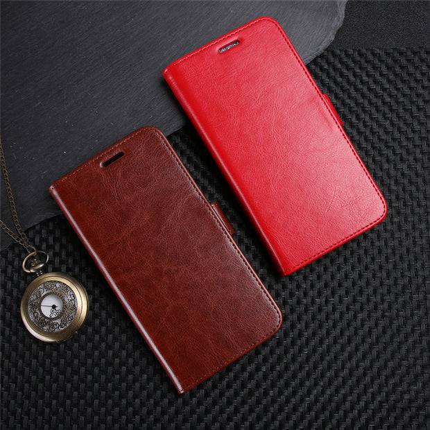 YINGHUI Luxury Wallet Cases For Sony Xperia XA2 Ultra Phone Case PU Leather Flip Protective Back Cover For Sony XA2 Coque Funda