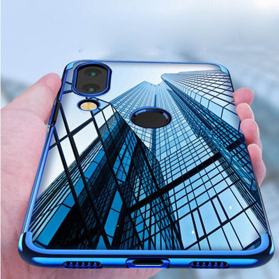 YISHANGOU Phone Case For Huawei P20 Lite NOVA 3E Plating Transparent Soft TPU Cover For Huawei P20 Plus P20Pro Honor 9 Lite V10