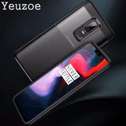 Yeuzoe For One Plus 6 Case Soft Silicone Ultra Thin Cover For Oneplus 6 Case 2 In 1 Full Protection Non-slip Anti-knock 1+6