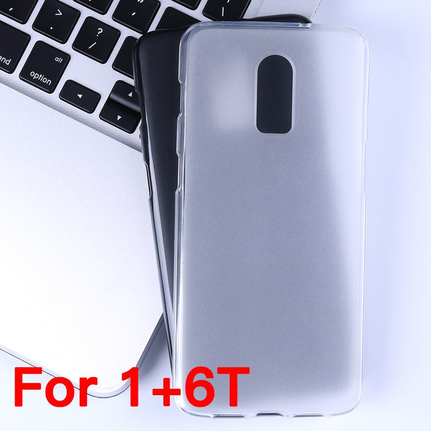 YisiSource Case For OnePlus 6T Soft Matte Pudding TPU Soft Silicone Gel Cover For OnePlus 6T Back Shell Capa Copue